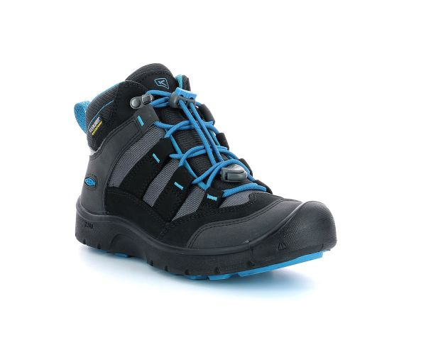 HIKEPORT MID WP BLACK BLUE JEWEL