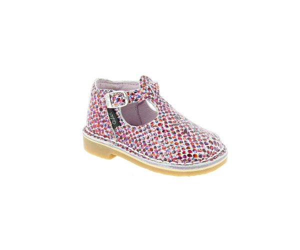Aster Kickersamp; Co Fille Chaussures Salomés Bimbo Multicolor htrCxBsQd