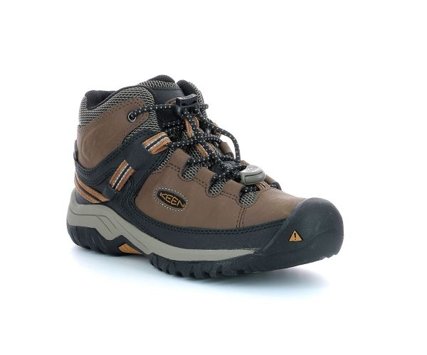 TARGHEE MID WP DARK EARTH   GOLDEN BROWN