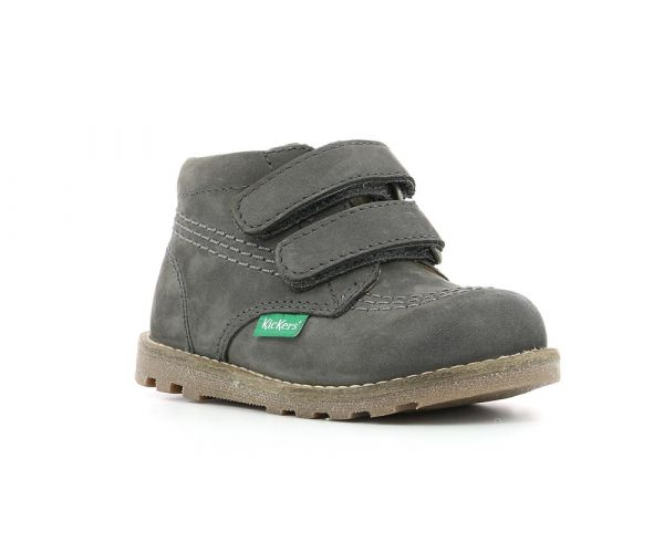 Bottillons Fille Nonomatic gris Chaussures Kickers Kickers & Co