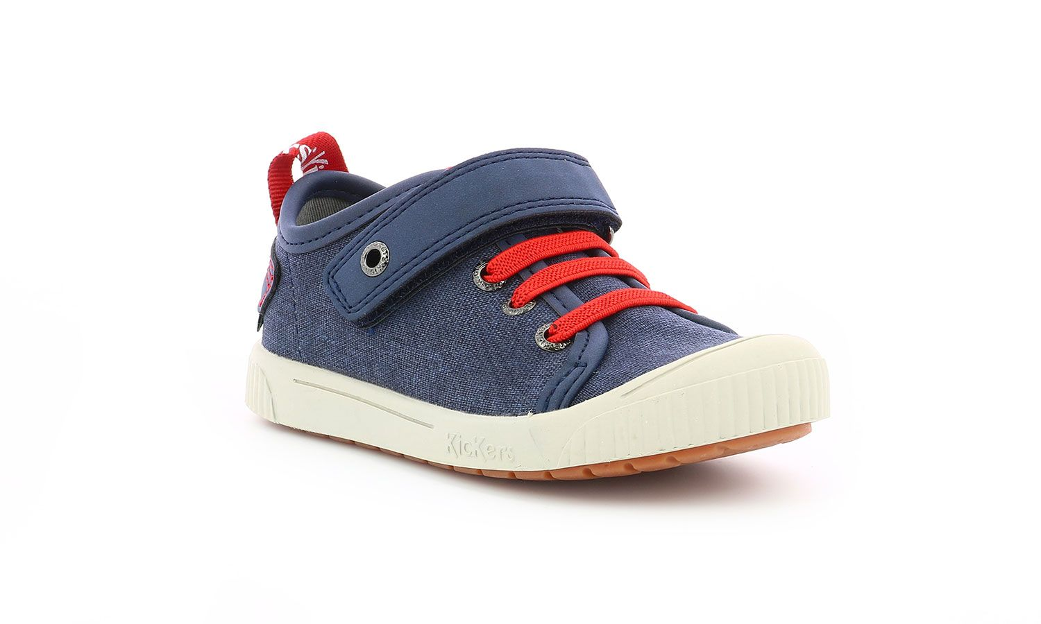 Chaussures Kickers ZHOU MARINE ROUGE Kids and co