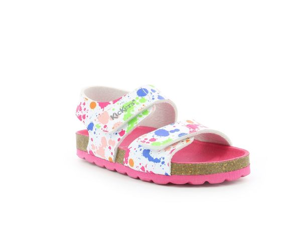 SUMMERKRO BLANC IMPRIME MULTICOLOR
