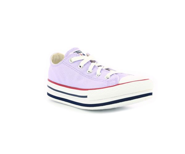 CHUCK TAYLOR ALL STAR PLATFO OX VIOLET CLAIR