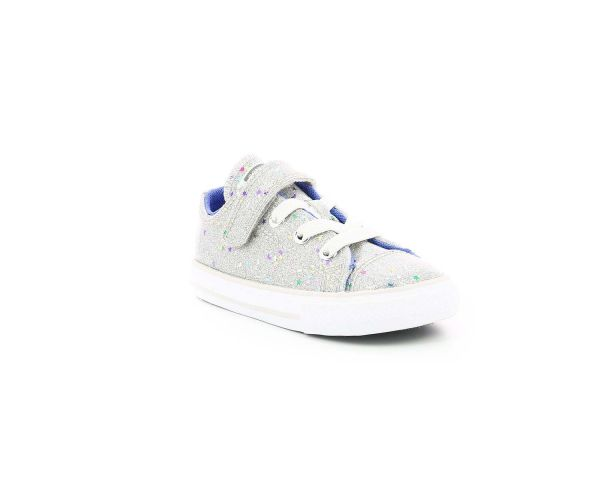 CHUCK TAYLOR ALL STAR OX 1V ARGENT