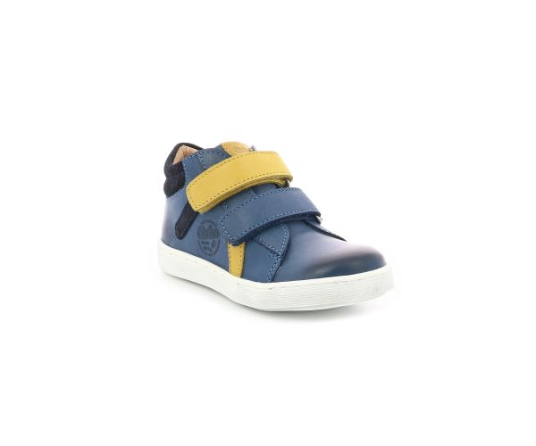 SACROCH BLEU DENIM JAUNE