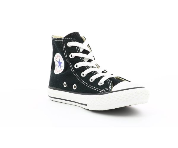 Chaussures Converse CHUCK TAYLOR ALL STAR CORE HI NOIR (27-35) - Kids and co