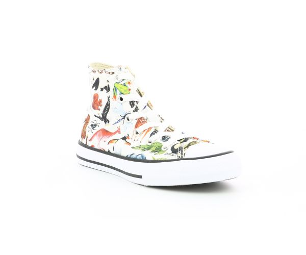 CHUCK TAYLOR ALL STAR HI EV BLANC IMPRIME ANIMAL