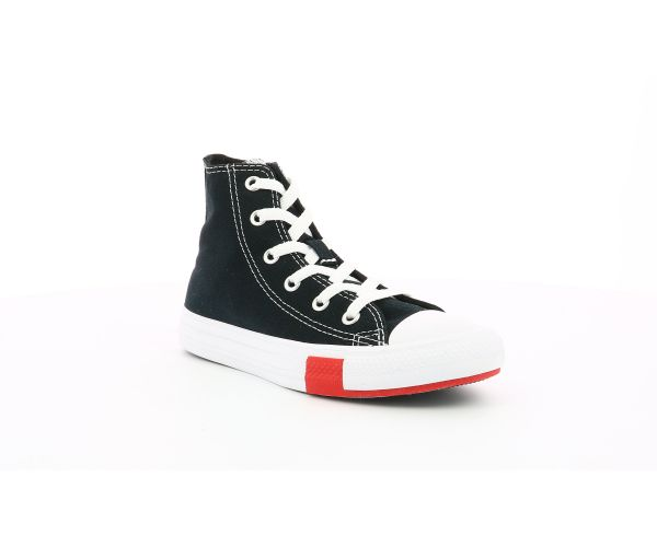 CHUCK TAYLOR ALL STAR HI EV NOIR LOGO PLAY