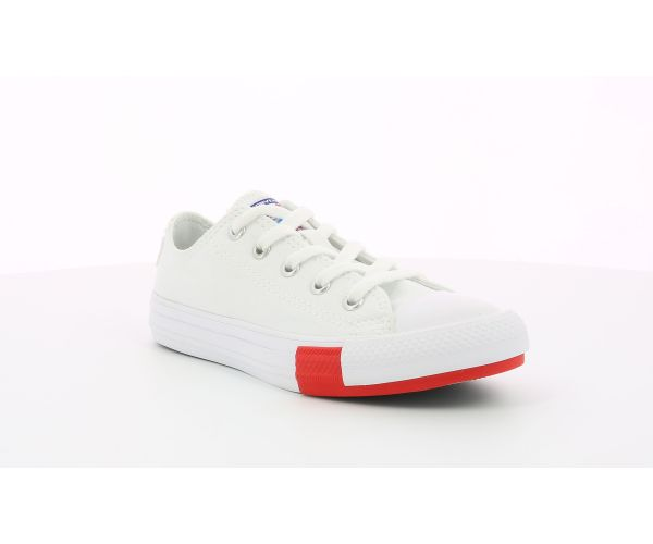 CHUCK TAYLOR ALL STAR OX EV BLANC ROUGE