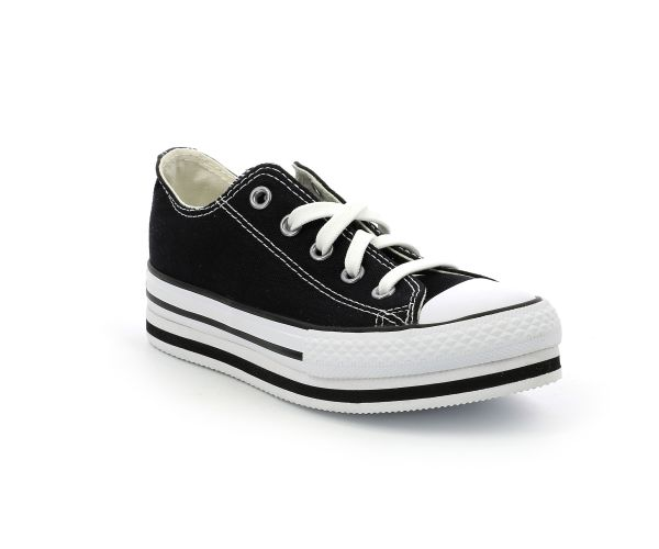 CHUCK TAYLOR ALL STAR PLATFO OX NOIR