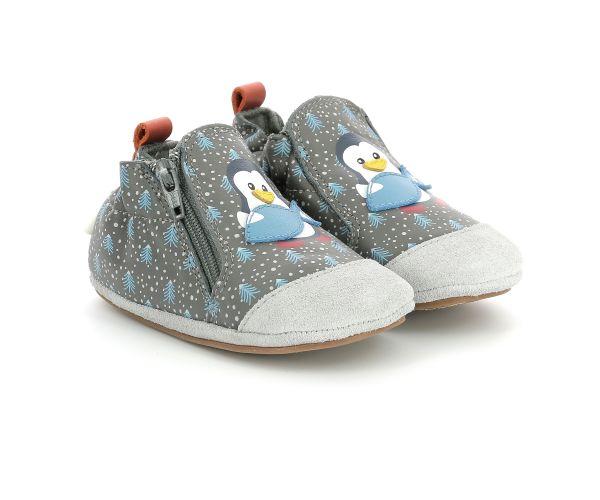 BLUE PINGUINS GRIS FONCE
