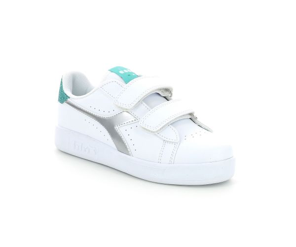 GAME P PS GIRL WHITE BLUE TURQUOISE
