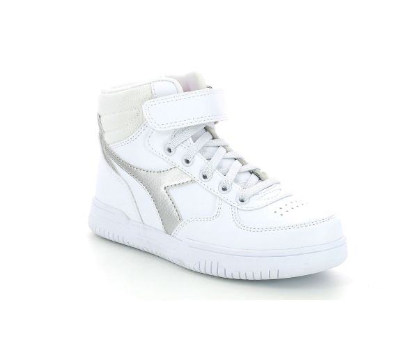 RAPTOR MID PS WHITE SILVER