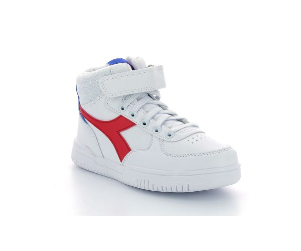 RAPTOR MID PS WHITE TOMATO RED