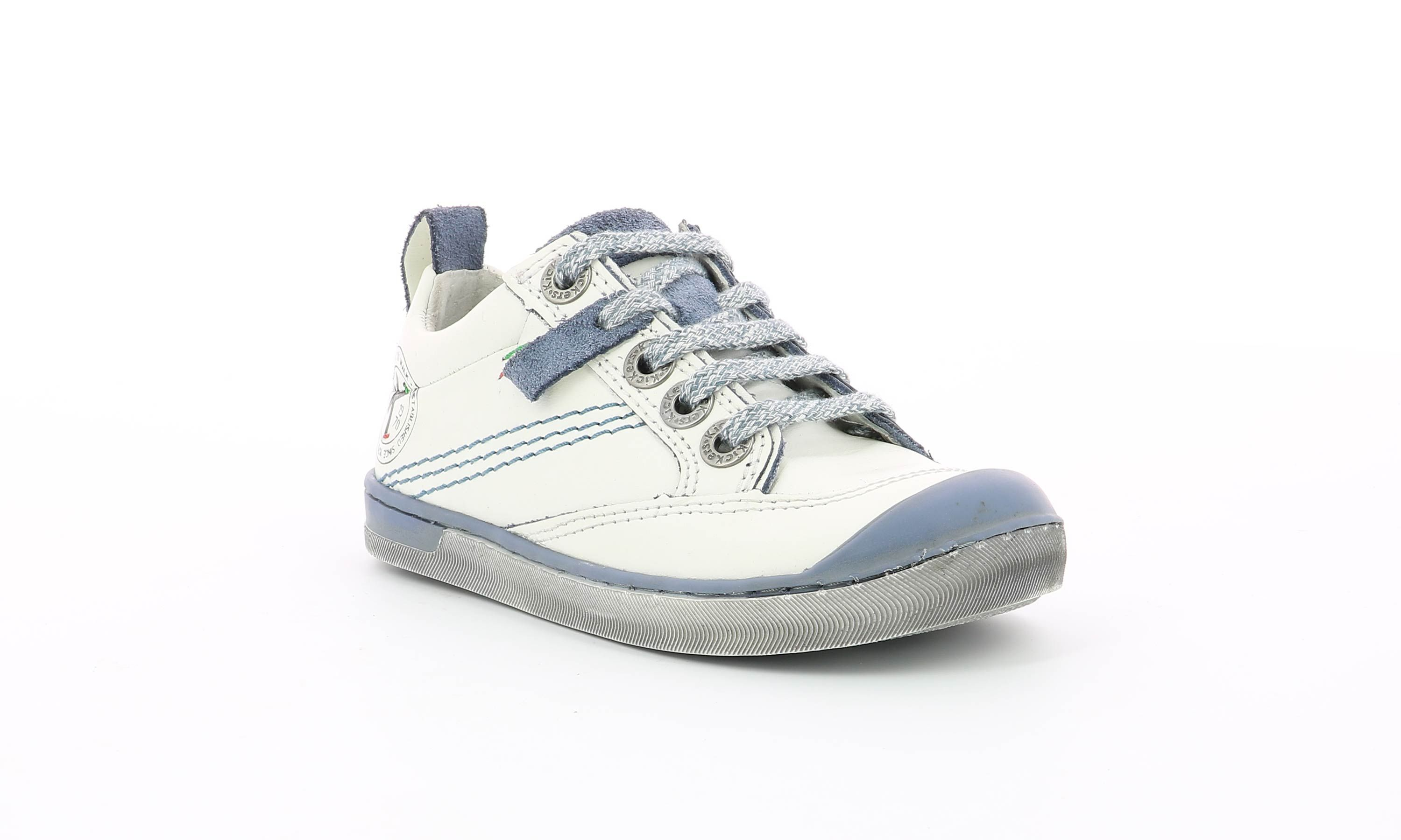 Chaussures Kickers IRIADE BLANC Kids and co