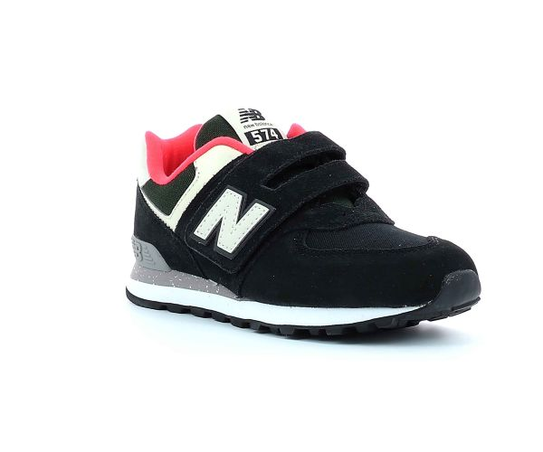 New HA balance and co Kids IV574 Chaussures BLACK M 5R4ALj