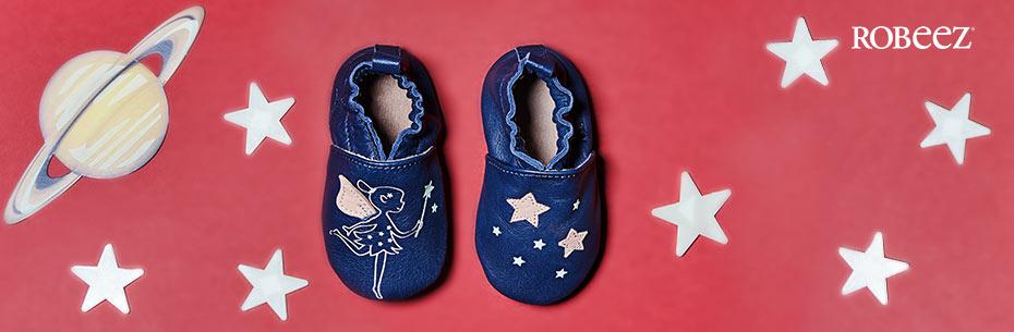 Les chaussons pour bébés de la marque Robeez