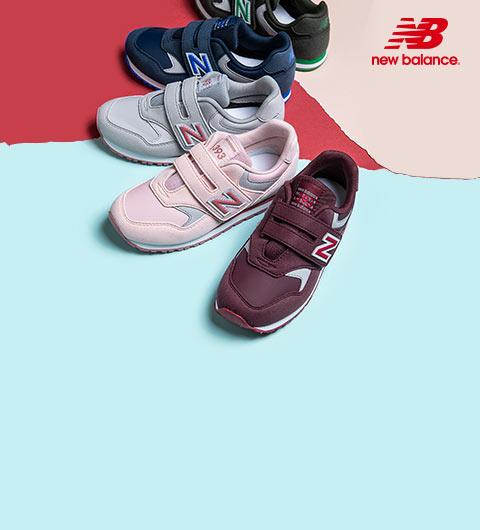 Les baskets pour adolescents de la marque New Balance