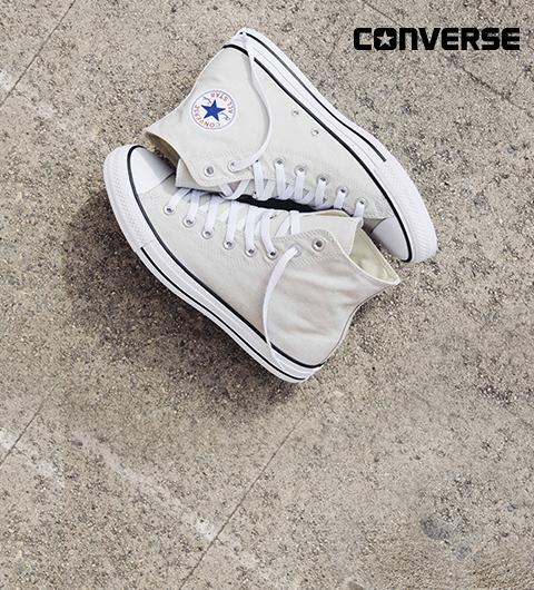 <Les baskets pour adolescents de la marque Converse