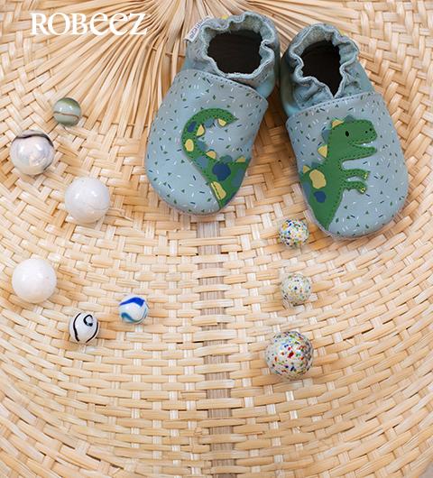 Les chaussons pour enfants de la marque Robeez