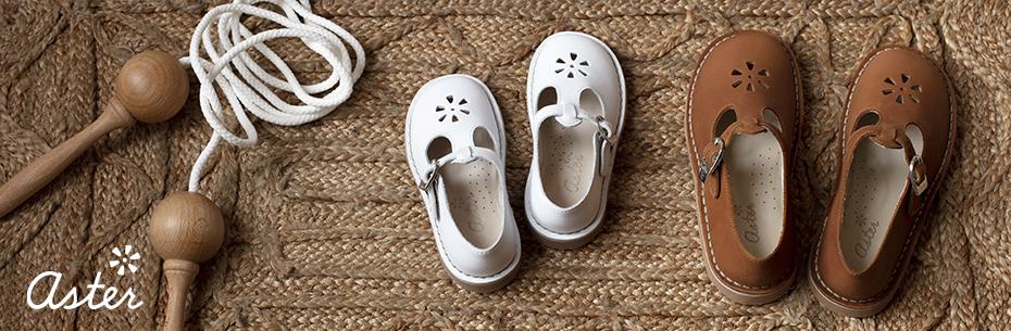 Les chaussures pour enfants de la marque Aster