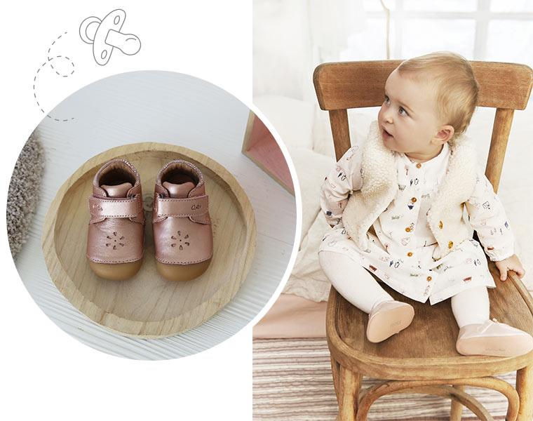 Chaussures pour bébé 4 pattes de marques