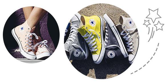 L'histoire de la marque de chaussures pour enfants Converse