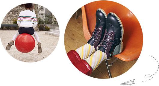 L'histoire de la marque de chaussures pour enfants Kickers
