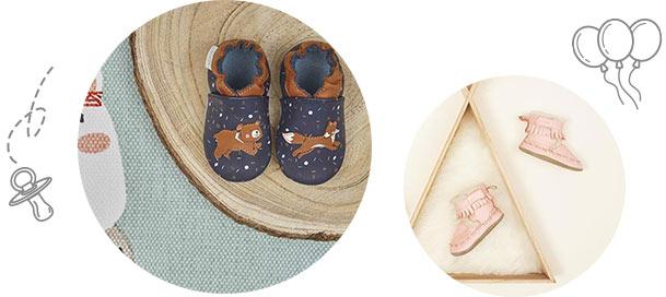 L'histoire de la marque de chaussons souples pour bébé Robeez
